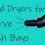 hand car wash dryers