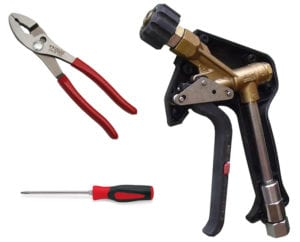 Spray Gun with Tools