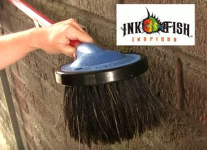 Inkfish New Round Foam Brush