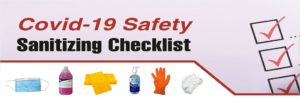 Covid Safety Checklist Header