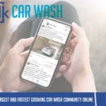 talkcarwash facebook group title header
