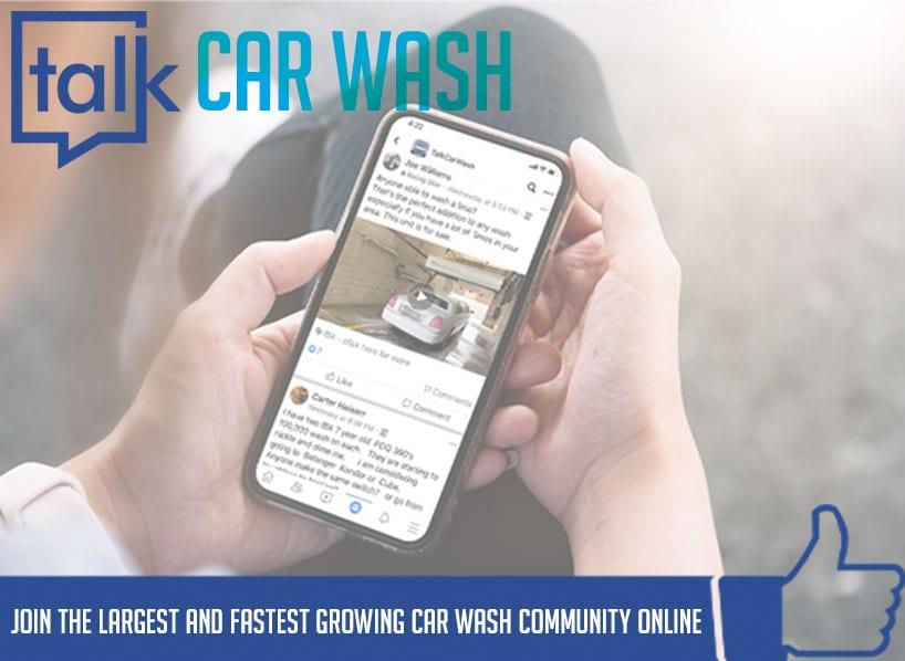 talkcarwash facebook group title header