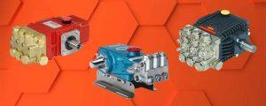 3 high-pressure pumps